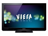 "42"" Panasonic Plasma tv 600Hz Full HD 1080p Plasma TV Freeview-HDSD Card Slot CAN DELIVER"