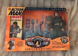 Action Man 30th Anniversary Collector's edition Rare Collectible