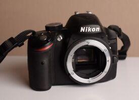 Nikon D3200 24.2MP Digital SLR Camera - Camera Body with charger, battery, strap. NO LENS
