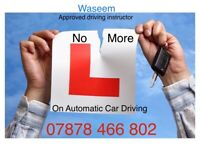 Automatic Car driving lessons with Approved Driving Instructor