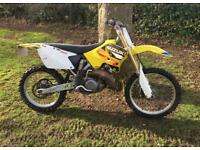 2004 Suzuki rm125 road registered 6 speed legal rm 125 crosser mx enduro