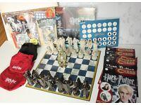 Harry Potter Chess Set by DeAgostini, Time Turner, Magazine Board Game Bundle