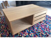 Habitat Oak Veneer Coffee Table