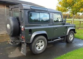 Land Rover 90 XS 2006, Grey, 6 seats, Full Land Rover Service History.