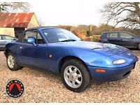 1993 Mk1 Mazda MX-5 Very Low Mileage - Superb Bodywork NEW MOT no advisories just Serviced HPI Clear