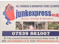 UNWANTED ITEMS,RUBBISH CLEARANCE,HOUSE/OFFICE CLEARANCE,GARAGE,LOFT,JUNK,BUILDERS WASTE DISPOSAL