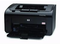 HP LaserJet Pro P1102W Laser Printer (works with minor issues)