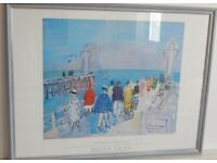 Raoul Dufy The Pier at Deauville Professionally framed art print.
