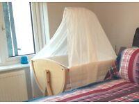 Beautiful Beech Stokke Natural Nursery Set - Sleepi Bed & Stokke Care Change Table - £500