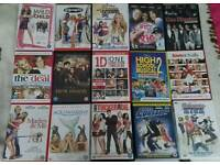 Selection of chick flicks