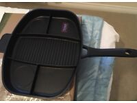 Brand new multi section frying pan