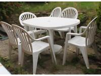 Patio set for FREE