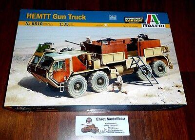 HEMMT Gun Truck  1:35 Italeri 6510 Neu
