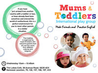 International Mums & Toddlers Group - Practise English and Make Friends
