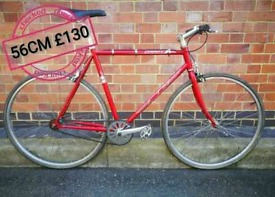 56cm SE Draft Single Speed Bike Serviced with Receipt & ID