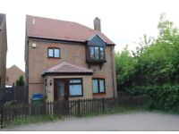3 bedroom detached house to rent (unfurnished) *Available Immediately*
