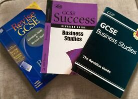 G.C.S.E revision books for business studies and sciences suitable for WJEC and OCR
