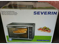 Severin Bake Or Grill Oven W/Convection,42 Litre,1800 Watt,Black/Silver,UK Moulded Plug,£60 o.n.o.