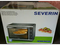 Severin 2058 Toast Oven With Convection, 42 Litre, 1800 Watt, Black/Silver
