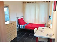 Single bed in 6 rooms shared flat at Malvern Road in London - Room 3 (REF. SF010996)