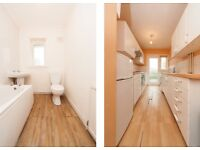 single and double bedroom for share in 3 bedroom flat