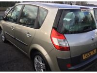 2006 RENAULT MEGANE SCENIC £800 CASH NO OFFERS