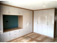 Made to measure fitted wardrobes