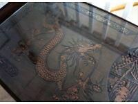 Oriental vintage coffee table