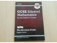 NEW GCSE Edexcel Mathematics Revision Guide Higher Level-CGP from grade 9-1