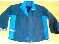 PROQUIP MENS BLUE RAIN JACKET, XXXL WITH DETACHABLE SLEEVES