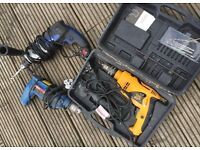 3 power drills, 240V, All working, Selling as job lot. NO OFFERS