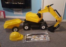 Kids jcb/excavator