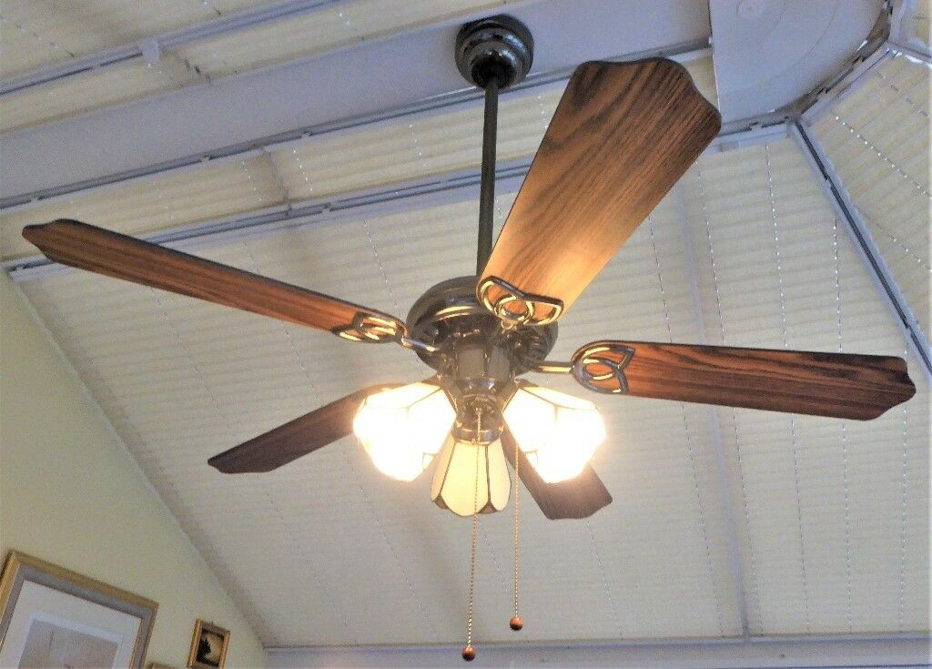 Conservatory 3 light ceiling fan