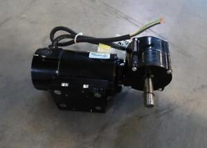 BALDOR 1/15 Hp Industrial Motor With 40:1 Gear Reducer