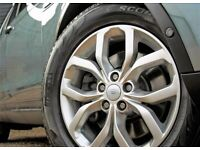 """GENUINE 521 STYLE 19"""" LAND ROVER DISCOVERY 5 ALLOY WHEELS TYRES"""