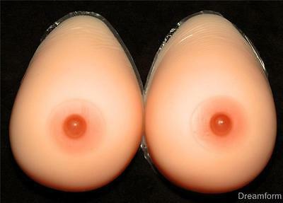 SILICONE BREAST FORMS Mastectomy Size 8 36DD 38D 40C