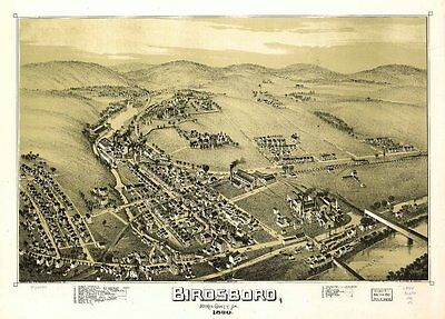 PENNSYLVANIA VINTAGE PANORAMIC MAPS COLLECTION ON DVD
