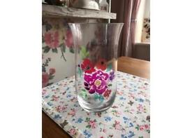 Large Debenhams floral vase