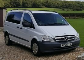 Mercedes Vito Dualiner ideal camper conversion 4 seats may px cheap 4x4