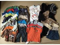 Bundle of 36 Boy Clothes 12 to 18 months