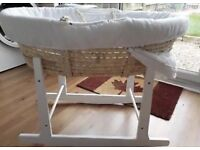 MOSES BASKET DELUXE FOR SALE