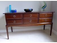 Stag Minstrel 6 Drawer Table