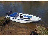 Dell Quay Dory 15ft with 70hp Evinrude 2-Stroke For Sale on Trailer
