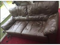 Two sitter Sofa available for collection