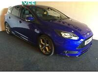 ***2014 FORD FOCUS 2.0 ECO BOOST ST-3 LOW MILES FULL SERV HISTORY UPGRADED BODY KIT*** £12999
