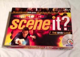 Scene It? Doctor Who DVD Trivia Board Game by Mattel 2008 Complete And VGC.