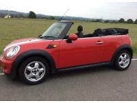 2010 Mini Cooper convertible 1.6 petrol 6 speed manual