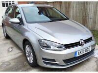 Volkswagen GOLF 2.0 TDI BlueMotion Tech SE, 2013 (13 Reg), Manual, 5 doors (£20 Road Tax)