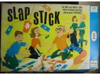 GAME-SLAP STICK family game.Vintage large colourful Box.TRIANG action Game. £ 12.Collectable