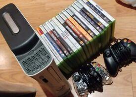 Xbox 360 - 120GB - 1 controller - 23 Games - HDMI port